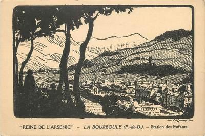 """CPA FRANCE 63 """"La Bourboule, station des enfants"""""""