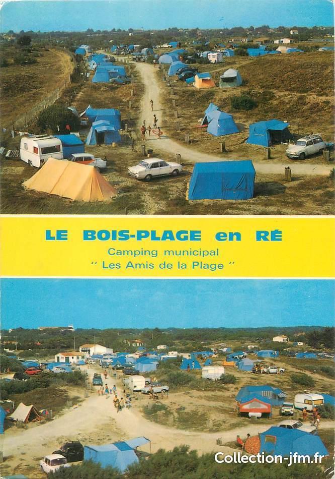 CPSM FRANCE 17 Le Bois Plage en ré  CAMPING  17