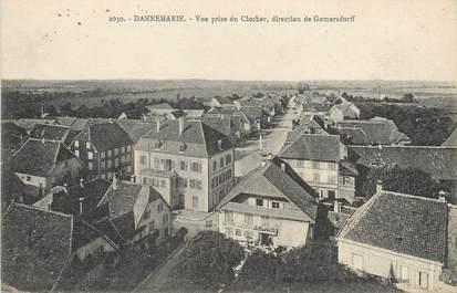 "CPA FRANCE 68 ""Dannemarie, vue prise du clocher"""