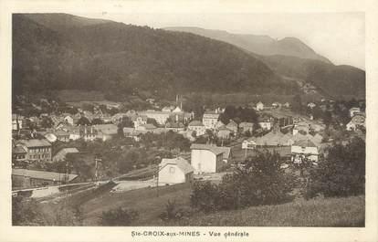 """CPA FRANCE 68 """"Sainte Croix aux Mines,  vue  générale"""""""