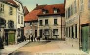 "68 Haut Rhin CPA FRANCE 68 ""Sainte Croix aux Mines, rue de la gare et rue principale"""