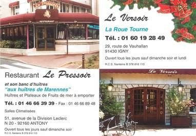 "/ CPSM FRANCE 92 ""Anthony, restaurant Le Pressoir"""