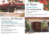 "92 Haut De Seine / CPSM FRANCE 92 ""Anthony, restaurant Le Pressoir"""