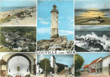 """/ CPSM FRANCE 50 """"Gouville sur Mer """""""