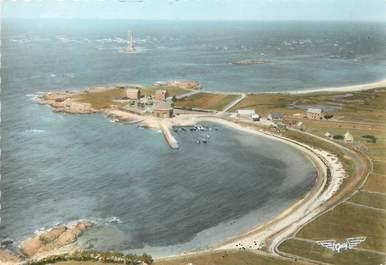 """/ CPSM FRANCE 50 """"La Hague, le port de Goury et le phare"""""""