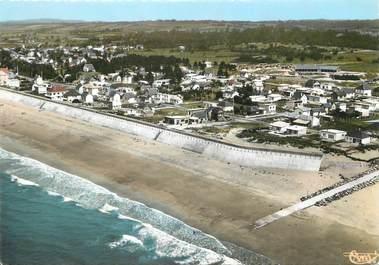 """/ CPSM FRANCE 50 """" Hauteville sur Mer, la plage"""""""