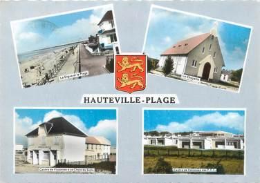 """/ CPSM FRANCE 50 """" Hauteville  sur  Mer"""""""