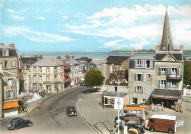 """/ CPSM FRANCE 50 """"Saint Pair sur Mer, la grande place"""""""
