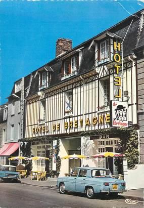 """/ CPSM FRANCE 50 """"Pontorson, hôtel de Bretagne"""""""
