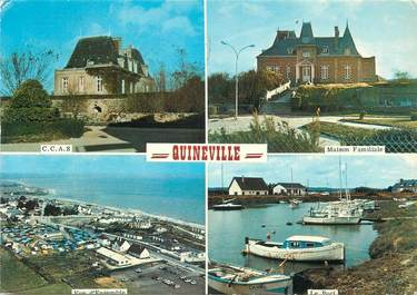 """/ CPSM FRANCE 50 """"Quineville """""""