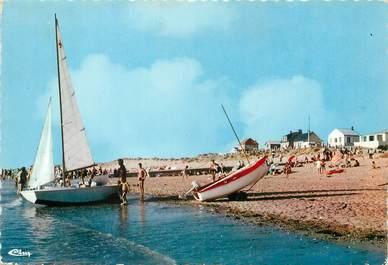 """/ CPSM FRANCE 50 """"Pirou plage, la plage"""""""