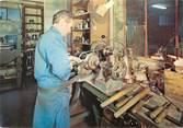 """50 Manche / CPSM FRANCE 50 """"Villedieu les Poeles, atelier Delalande, artisanat du cuivre"""""""