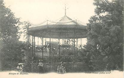 "/ CPA FRANCE 53 ""Kiosque de Mayenne"""
