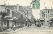 """95 Val D'oise / CPA FRANCE 95 """"Enghien Les Bains, rue du chemin de fer"""""""