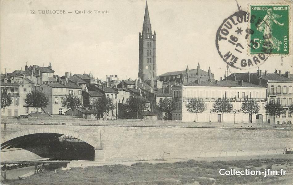 CPA FRANCE 31 Toulouse, quai de Tounis  31 haute