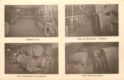 """/ CPA FRANCE 91 """"Longjumeau"""" / VINS / CARTE PUBLICITAIRE"""