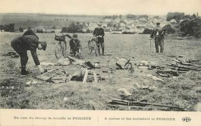 """/ CPA FRANCE 77 """"Puisieux, un coin du champ de bataille"""""""