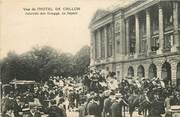 """75 Pari CPA  """"Paris, I er, Hôtel de Crillon, journée des Draggs, le départ"""""""