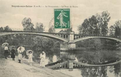 """/ CPA FRANCE 77 """"Noyen Sur Seine, le Pormontain"""""""