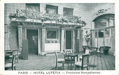 """CPA FRANCE 75006 """"Paris, Hotel Lutétia"""""""