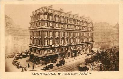 """CPA  """"Paris, Ier, Central Hotel, rue du Louvre"""""""