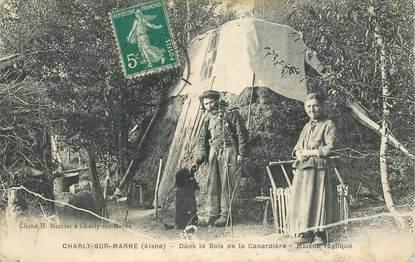 """CPA  FRANCE 02 """"Charly sur Marne, dans le Bois de la Canardière"""""""