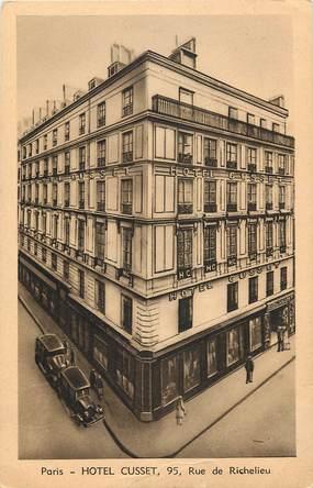 """CPA FRANCE 75002 """"Paris, Hotel Cusset, 95 rue de Richelieu"""""""