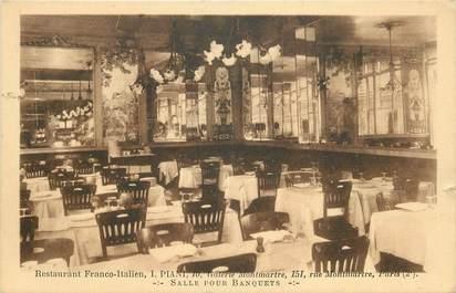 """CPA FRANCE 75002 """"Paris, Restaurant Piani, Galerie Montmartre, salle pour banquets"""""""