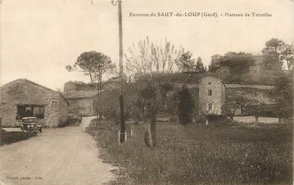 """CPA FRANCE 30 """"Env. du Saut du Loup, Hameau de Trouillas"""""""