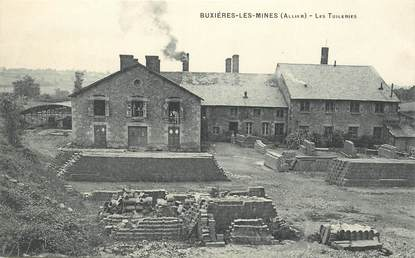 """CPA FRANCE 03 """"Buxières les Mines, les Tuileries"""""""