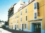 """52 Haute Marne / CPSM FRANCE 52 """"Bourbonne Les Bains, hôtel restaurant Beau Séjour"""""""