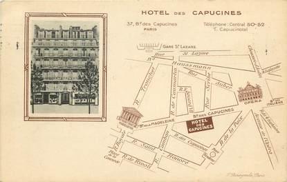 "CPA ""Paris, II ème, Hotel des Capucines, Bld des Capucines"""