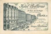 """75 Pari CPA """"Paris, III ème, Hotel Bellevue, rue de Turbigo"""""""