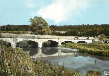 """/ CPSM FRANCE 52 """"Goncourt, le pont de la Meuse"""""""