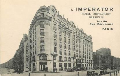 """CPA  """"Paris, II ème, L'Imperator, rue Beaubourg"""""""