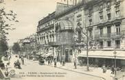 """75 Pari CPA  """"Paris, III ème,  Bld Saint Martin, le Théâtre de la Porte Saint Martin"""""""