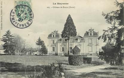 """/ CPA FRANCE 53 """"Château de Breon, Daon """""""