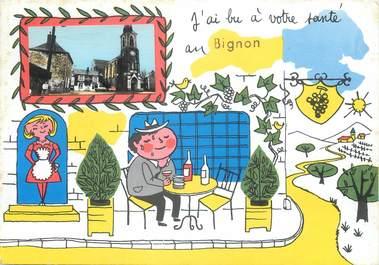 "/ CPSM FRANCE 53 ""Bignon"""