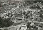 """53 Mayenne / CPSM FRANCE 53 """"Chateau Gontier, vue aérienne, église Saint Rémy"""""""