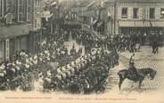 """08 Ardenne CPA FRANCE 08 """"Vouziers, revue des troupes de la Garnison"""""""