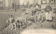 "08 Ardenne CPA  FRANCE 08 ""Givet, attelage de chiens ardennais"""