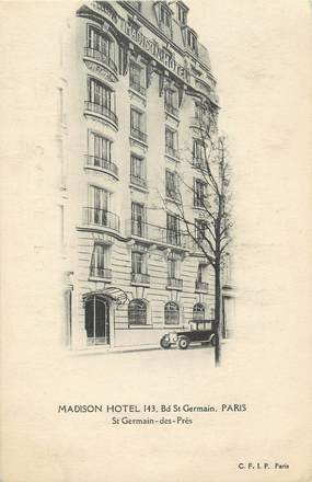 "CPA ""Paris, VI ème, Bld Saint Germain, Madison Hotel"""