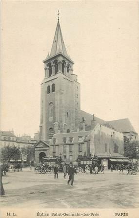 """CPA """"Paris, VI ème Eglise Germain des Prés"""""""