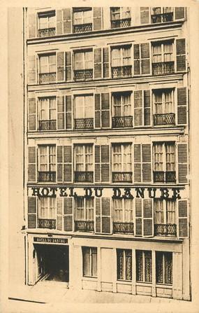 "CPA ""Paris, VI ème, Hotel du Danube, Rue Jacob"""