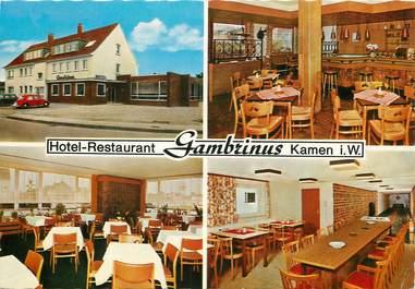 """CPSM ALLEMAGNE """" Kamen, Hotel restaurant"""""""