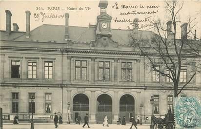 "CPA ""Paris, VI ème, Mairie"""
