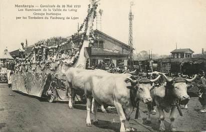 "/ CPA FRANCE 45 ""Montargis, cavalcade du 29 mai 1932 """