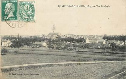 """/ CPA FRANCE 45 """"Beaune La Rolande, vue générale"""""""