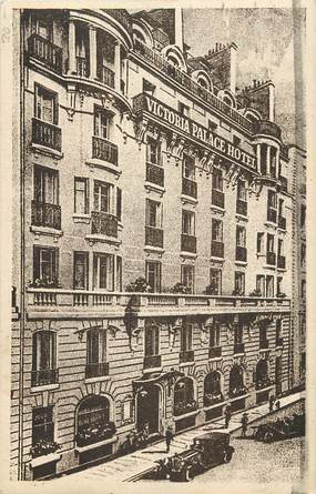 "CPA ""Paris, VI ème, Victoria Palace Hotel, Rue Blaise Desgoffe"""