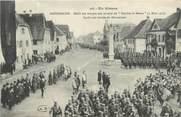 """68 Haut Rhin / CPA FRANCE 68 """"Dannemarie, défilé des troupes"""" / MILITAIRES"""